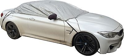 Showerproof Half Car Cover Gives UV/Weather Protection to Soft/Hard top-Medium
