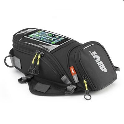 Givi EA106B Low Profile Motorcycle 6 Litre Tank Bag With Magnets - NEW MODEL