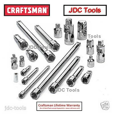 Craftsman 20 Piece pc Drive Tool Accessory Set  923345  New     21
