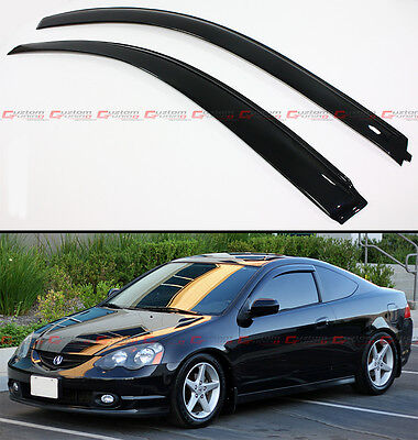 for 02 06 acura rsx dc5 type s jdm window visors vent rear roof