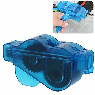 Cycling Bike Bicycle 3D Chain Cleaner Quick Clean Tool Brushes Scrubber