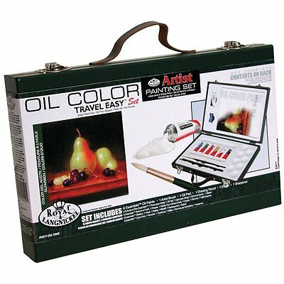 Royal & Langnickel Oil Color Painting Travel Easy Art Set  - RSET-OIL7000