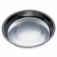 PET-567976 Fed 'N' Watered Stainless Steel Kitty & Puppy Flat Pan (15cm)