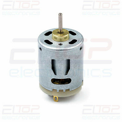 High Torque DC Motor Power 5 Pole 12V - 24V for Water Pumps Robots with Shaft