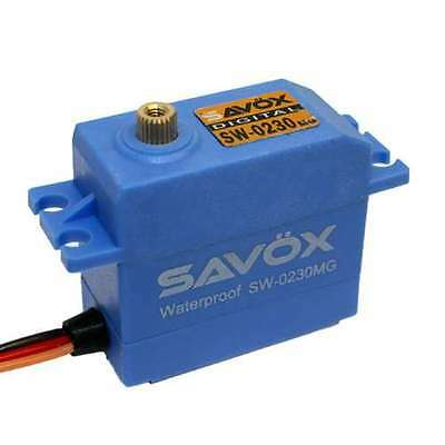 Savox SW-0230MG Waterproof HV Metal Gear Digital .13/111.1 High Voltage Servo