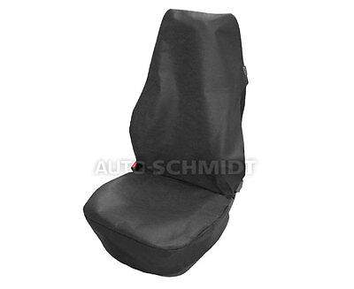 Universal  Black Front Seat Cover Protector For Any Car Van Lorry Truck