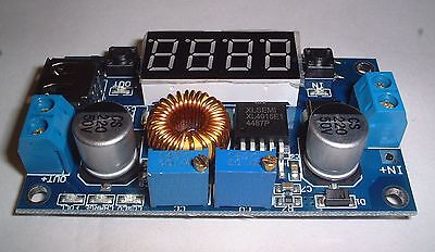 Constant current/voltage 5-30v 5A buck regulator  with Display UK Stock