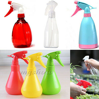 200-500ml Empty Hand Trigger Water Spray Plastic Bottle Cleaning Gardening NEW