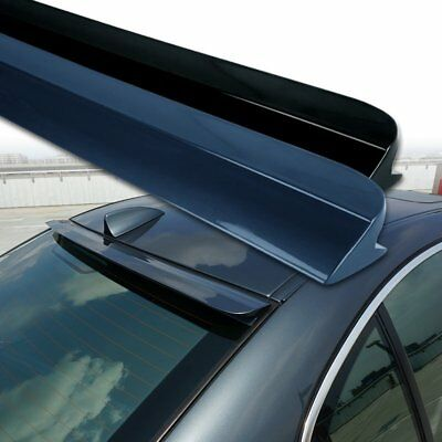 Painted F Style Window Roof Spoiler For BMW 5 Series E60 Saloon 2004-2010