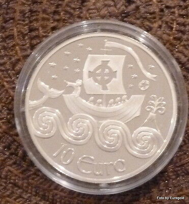 "Irland, 10-Euro 2011 in Silber ""Navigator"" PP (proof)"