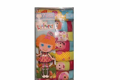 Fruit Of The Loom Lalaloopsy Girls Toddler Briefs, 7Pack