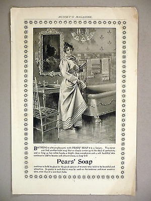 Pears' Soap PRINT AD - 1896
