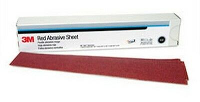 3M 1180 Red Abrasive Hookit™ Sheet, 2 3/4 in x 16 1/2 in, P150, 25 sheets/box