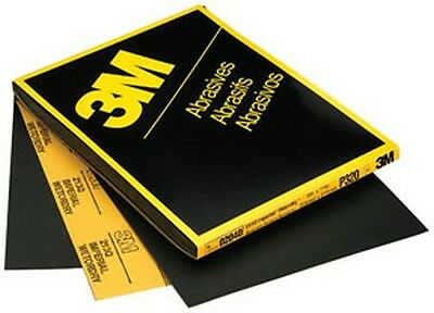 """3M 2037 Imperial™ Wetordry™ Sheet 02037, 9"""" x 11"""", P500A, 50 sheets/sleeve"""