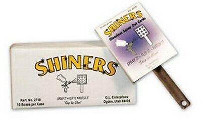 GL Enterprises 2750 Shiners™, Clearless Sprayout Cards