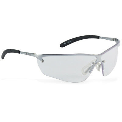 Bolle Silium Safety Shooting Range Work Protective Glasses SILPSI Clear Lens NEW