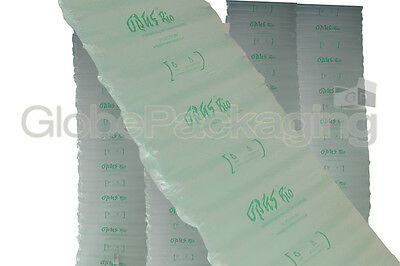25 x WIDE Inflated Biodegradable Air Pillows Cushions Void Loose Fill 400x50mm