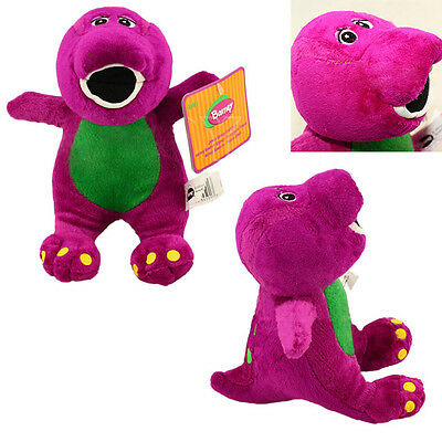 """Lovely Barney The Dinosaur Sing I LOVE YOU Song Soft Plush Toy Doll 17cm/6.7"""""""