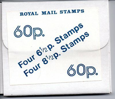 1976 Series 1 Scottish 60p Experimental Stamp Pack / Booklet