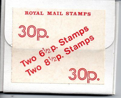1976 Series 1 Scottish 30p Experimental Stamp Pack / Booklet