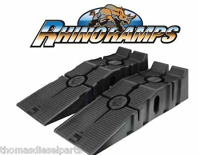 HEAVY DUTY 5 TON PRO WORKSHOP VEHICLE CAR RAMPS RACE RAMPS PAIR - Rhino Ramps