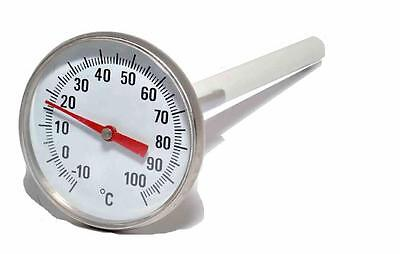 Dial Thermometer 45Mm Stainless Steel Photographic Film Processing