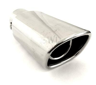 Universal Sports Exhaust Trim Sporty Tail Pipe Tip Muffler Finisher Tailpipe NEW