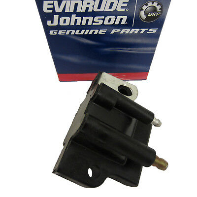 Johnson/Evinrude/OMC New OEM IGNITION COIL 0582508, 582508, 512227