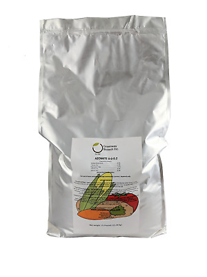 25LB AZOMITE Powder Micronized Organic Trace Mineral CERTIFIED DEALER OF AZOMITE