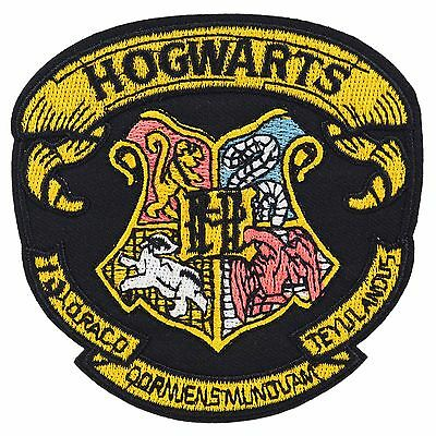 Harry Potter Hogwarts Iron On Patch Costume Movie Embroidered School Crest
