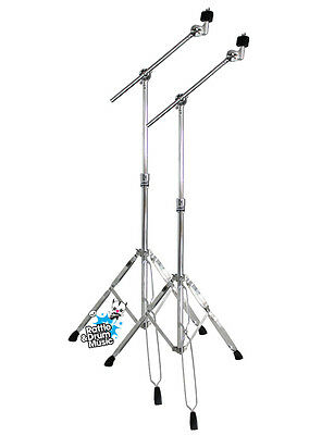 Mapex Tornado B200 Double Braced Cymbal Boom Stand x2 Twin Pack Package Deal