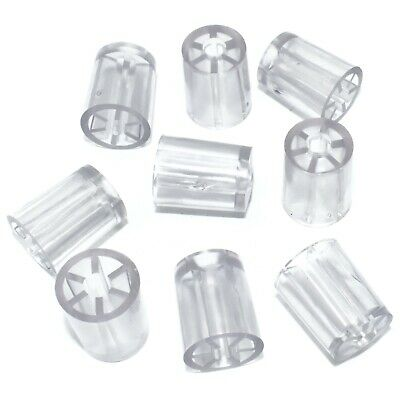 18mm CLEAR MINI SPACERS FOR CORRUGATED ROOFING SCREWS, COROLUX, ARIEL, ONDULINE
