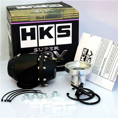 New Hks Universal Blow Off Valve Bov Sqv Ssqv Turbo Pull-Type 2 Ii With Adapter