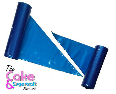 "Piping Bags 21"" Disposable Blue Savoy Icing Bags Cake Decorating"