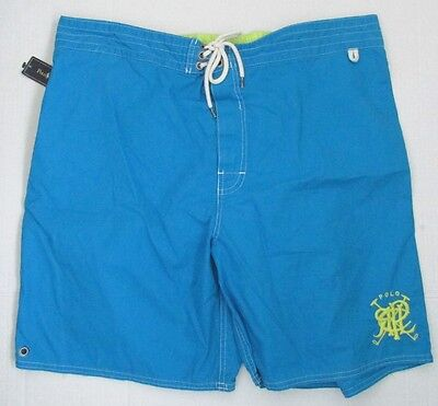 NWT Polo Ralph Lauren Swim Shorts Board Trunks Turquoise Blue Size XXL