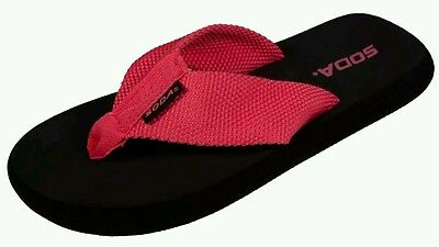 **FAST SHIPPING!!! pink CORAL SODA ALAMENDA FLIP FLOPS MANY SIZES AVAILABLE