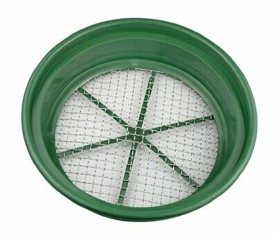 "1/2"" Classifier Sifting Pan Gold Panning Fits 5 Gallon Bucket Mesh Screen NEW"