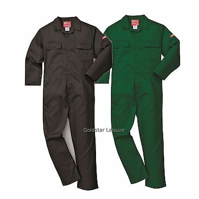 Portwest BizWeld Flame Resistant Work Boilersuit Overall Welding XS - 3XL BIZ1