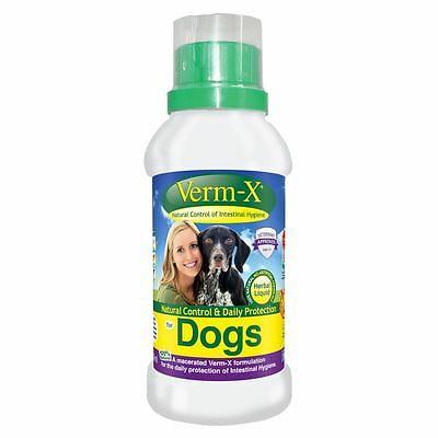 Verm-X Herbal Liquid For Dogs Pet Animal Cat & Dog Wormers/endoparasite