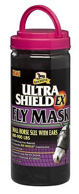 Absorbine Ultrashield Ex Fly Mask Equine Horse Fly, Louse & Insect Control