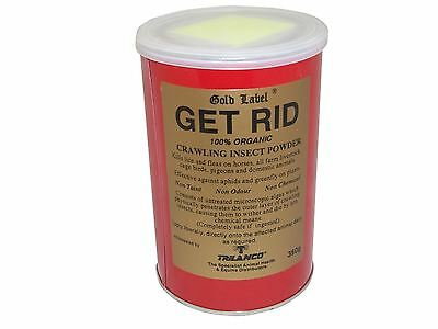 Gold Label Get Rid Equine Horse Fly, Louse & Insect Control