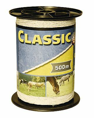 Corral Classic Fencing Polywire 500M Equine Horse Fencing