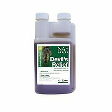 Natural Animal Feeds Devil's Relief Equine Horse Herbal Products