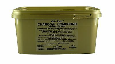 Gold Label Charcoal Compound Equine Horse Digestion & Behaviour