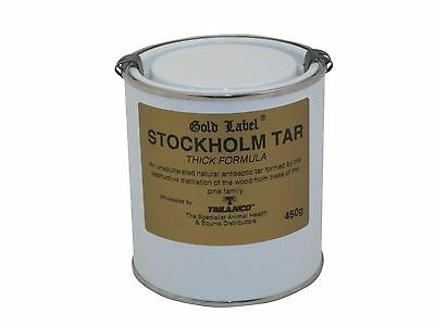 Gold Label Stockholm Tar Thick Equine Horse Hoof Care