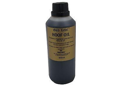 Gold Label Hoof Oil Equine Horse Hoof Care