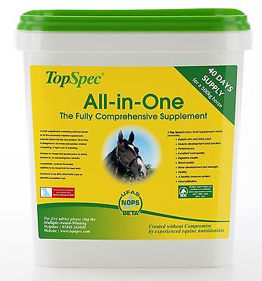 Topspec All-In-One Equine Horse Nutrition & Supplements