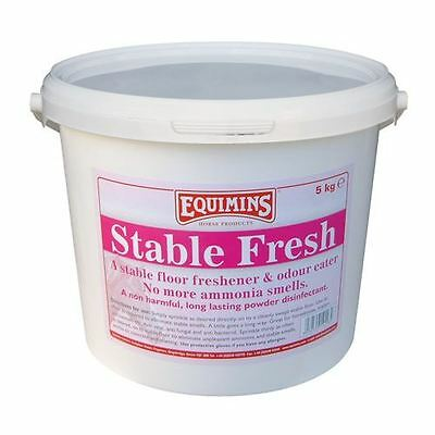 Equimins Stable Fresh Dry Bed Disinfectant Powder Equine Horse Stable