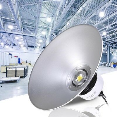 DELight™ 100W LED High Bay Light Industry Warehouse Factory Lamp Bulb Fixture