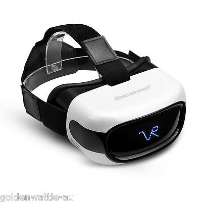 ALL IN ONE VR Headset 3D Glasses Android 5.1 Quad Core 8GB HD WiFi Bluetooth TF
